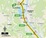 Streckenverlauf Tour de France 2020 - Etappe 2, Zwischensprint