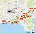 Streckenverlauf Tour de France 2020 - Etappe 2, letzte 5 km