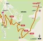 Streckenverlauf Tour de France 2020 - Etappe 17, letzte 5 km