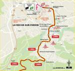 Streckenverlauf Tour de France 2020 - Etappe 18, letzte 5 km
