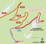 Streckenverlauf Tour de France 2020 - Etappe 20, letzte 5 km