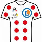 Reglement Tour de France 2020 - Weißes Trikot mit roten Punkten (Bergwertung)