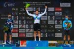 Der Schweizer Stefan Küng ist zum ersten Mal Europameister im Einzelzeitfahren (Foto: twitter.com/UEC_cycling)