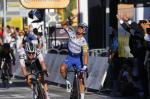 Marc Hirschi muss sich auf der 2. Etappe der Tour de France nur haarscharf Julian Alaphilippe geschlagen geben (Foto: twitter.com/TeamSunweb)
