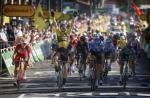 Wout Van Aert feiert auf Etappe 7 bereits seinen 2. Sieg bei der Tour de France (Foto: twitter.com/JumboVismaRoad)