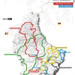 Streckenverlauf Skoda-Tour de Luxembourg 2020