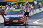 Der Däne Søren Kragh Andersen feiert seinen zweiten Solosieg bei dieser Tour de France (Foto: twitter.com/TeamSunweb)