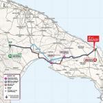Streckenverlauf Giro d'Italia 2020 - Etappe 7