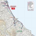 Streckenverlauf Giro d'Italia 2020 - Etappe 10