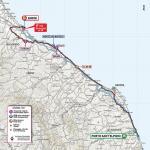 Streckenverlauf Giro d'Italia 2020 - Etappe 11
