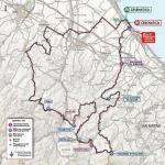 Streckenverlauf Giro d'Italia 2020 - Etappe 12