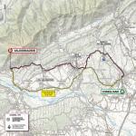Streckenverlauf Giro d'Italia 2020 - Etappe 14