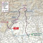 Streckenverlauf Giro d'Italia 2020 - Etappe 15