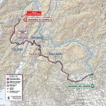 Streckenverlauf Giro d'Italia 2020 - Etappe 17