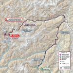 Streckenverlauf Giro d'Italia 2020 - Etappe 18