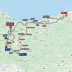 Streckenverlauf Vuelta a España 2020 - Etappe 1