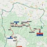 Streckenverlauf Vuelta a España 2020 - Etappe 6