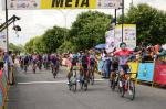 Matteo Malucelli gewinnt den Sprint auf der 1. Etappe der Vuelta al Tachira (Foto: twitter.com/lavueltachira)