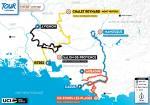 Streckenverlauf Tour de la Provence 2021