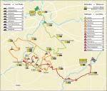 Streckenverlauf Omloop Het Nieuwsblad elite 2021