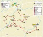 Streckenverlauf Omloop Het Nieuwsblad vrouwen elite 2021