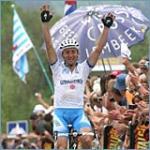 Davide Rebellin kann jubeln in Huy (Foto: http://www.letour.fr)