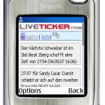 Giro im Handy Liveticker