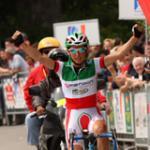 Tagessiegerin Luperini (Foto: www.t-mobile-team.com)