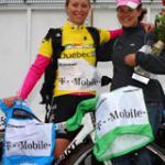 Fette Beute: Drei Trikots sowie den Sieg in der Teamwertung heimste T-Mobile ein. (Foto:TMO)