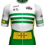 Reglement Volta Ciclista a Catalunya 2021 - Weiß-grünes Trikot (Gesamtwertung)