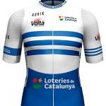 Reglement Volta Ciclista a Catalunya 2021 - Weiß-blaues Trikot (Punktewertung)
