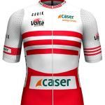 Reglement Volta Ciclista a Catalunya 2021 - Weiß-rotes Trikot (Bergwertung)