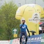 Marc Soler erobert als Solist die Führung bei der Tour de Romandie (Foto: twitter.com/TourDeRomandie)