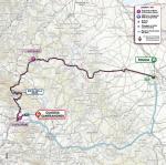 Streckenverlauf Giro d'Italia 2021 - Etappe 8