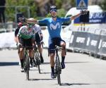 Gonzalo Serrano wiederholt seinen Etappensieg von 2020 bei der Vuelta a Andalucia (Foto: twitter.com/VCANDALUCIA)