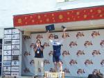 André Greipel feiert seinen zweiten Sprintsieg für Israel Start-Up Nation innerhalb weniger Tage (Foto: twitter.com/VCANDALUCIA)
