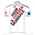 Trikot AG2R Citroën Team (ACT) 2021 (Quelle: UCI)