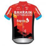 Trikot Bahrain Victorious (TBV) 2021 (Quelle: UCI)