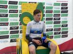 Stefan Küng gewinnt im Europameistertrikot das erste Zeitfahren der 84. Tour de Suisse (Foto: twitter.com/tds)