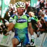 Michael Albasini bei seinem Etappensieg an der Sarthe Rundfahrt (Foto: michaelalbasini.ch)