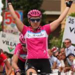 Premiere: Ina-Yoko Teutenberg holt ihren ersten Sieg beim Giro. (Foto: TMO)
