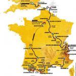 Streckenverlauf der Tour 2007