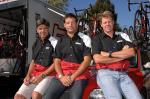 Das neue BMC Racing Team Management: (v.l.n.r.) Charlie Livermore,