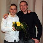Jens Voigt und Pierre Senska