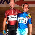 Danny Stam und Marco Villa  bei den  Berliner Sixdays 2004 Foto Adriano Coco