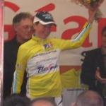 Loes Gunnewijk freut sich über die Gesamtfürhung <i>(Foto: http://www.tour-aude-cycliste-feminin.com)</i>