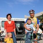 Familie Gruber geniesst ihre Radferien in Calpe und Umgebung