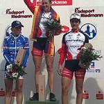 Podium Bundesligarennen, Karbach, Foto: Cervélo-Lifeforce Pro Cycling Team