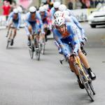 Team Slipstream gewinnt Mannschaftszeitffahren,  91. Giro d\' Italia 2008, 1. Etappe, Mannschaftszeitfahren, Palermo. Foto: Sabine Jacob