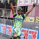 Etappensieger Daniele Bennati (Liquigas), 91. Giro d\' Italia 2008,  3. Etappe, Catania - Milazzo (221 km), Foto: Sabine Jacob